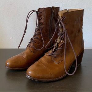 Frye Courtney Leather Boots
